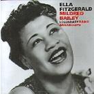 Ella Fitzgerald & Mildred Bailey - Legendary Radio Broadcasts (2 CDs)