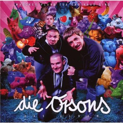 Die Orsons (Tua, Kaas, Maeckes & Plan B) - Das Album