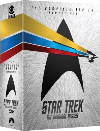 Star Trek - The Original Series - The Complete Series (Box, Remastered, 24 DVDs)
