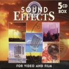 Sound Effects For Video And Films - Various 1 s (5 CDs)