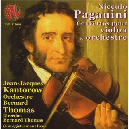 Jean-Jacques Kantorow & Niccolo Paganini (1782-1840) - Konzert Fuer Violine Nr1 Op6,