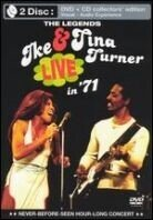 Turner Ike & Tina - Live in 71 (Collector's Edition, DVD + CD)