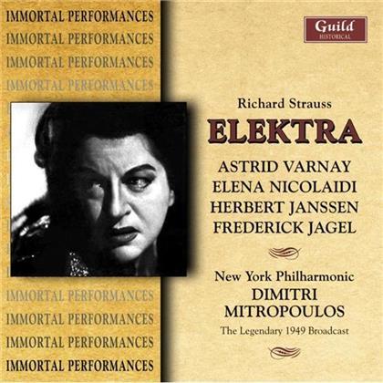 Mitropoulos/Varnay/Ny Philharmonic. & Richard Strauss (1864-1949) - Elektra (2 CDs)