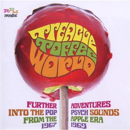Psyche Sounds From The Apple Era - Various - Treacle Toffee World