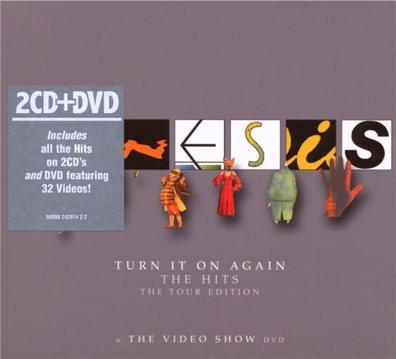 Genesis - Turn It On Again - Tour (2 CDs + DVD)