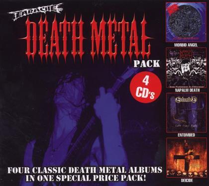 Earache Death Metal Pack - Various (4 CDs)