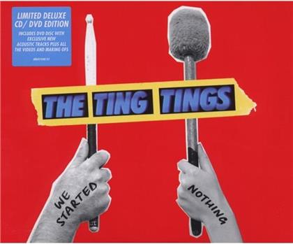 The Ting Tings - We Started Nothing (Digipack, CD + DVD)