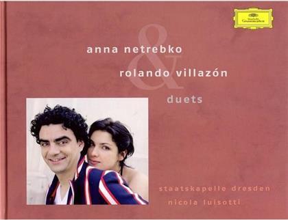 Netrebko Anna/Villazón Rolando & Giacomo Puccini (1858-1924) - Duets (Deluxe Edition, CD + DVD + Buch)