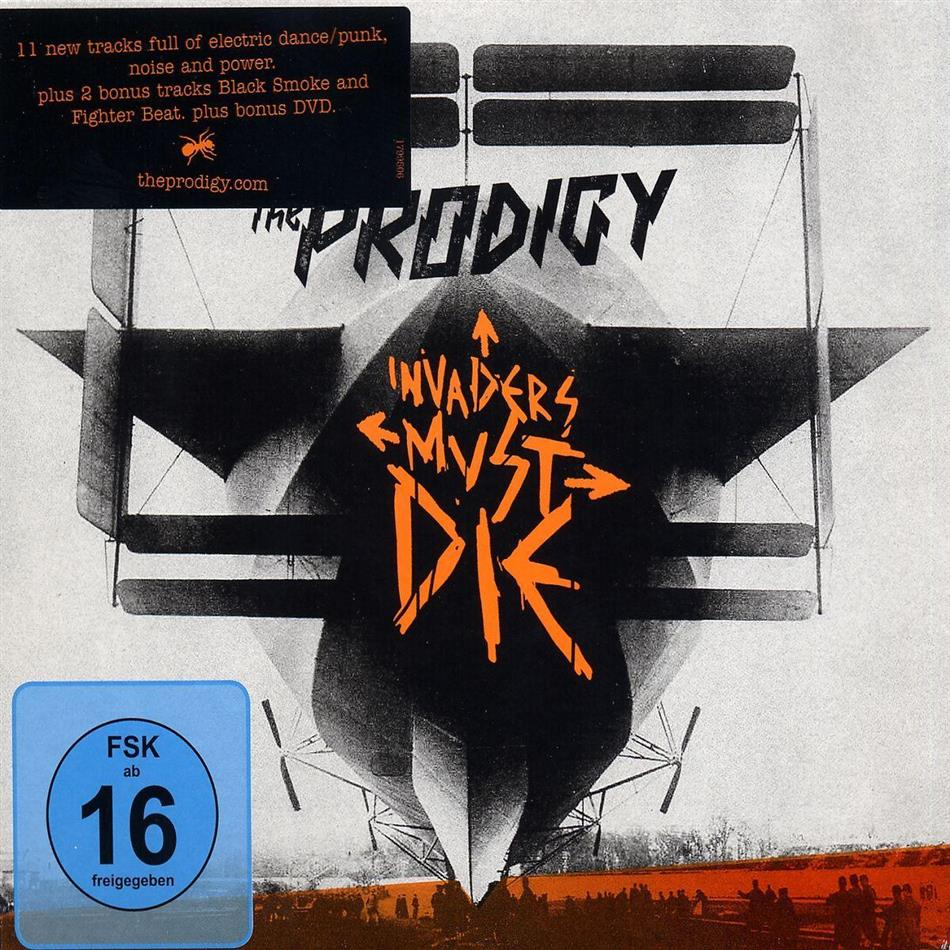 The Prodigy - Invaders Must Die (CD + DVD)