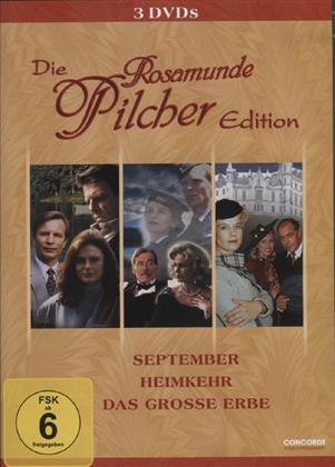 Die Rosamunde Pilcher Edition - September / Heimkehr / Das grosse Erbe (3 DVDs)