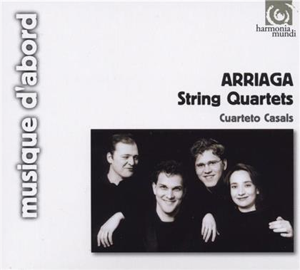 Casals Quartett & Juan Crisostomo De Arriaga (1806 - 1826) - Quartett Nr1, Nr2, Nr3