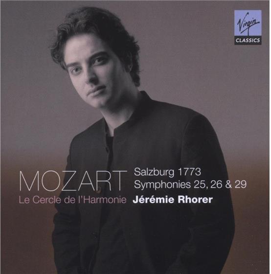 Jeremie Rohrer & Wolfgang Amadeus Mozart (1756-1791) - Symphonies Nos 25, 26