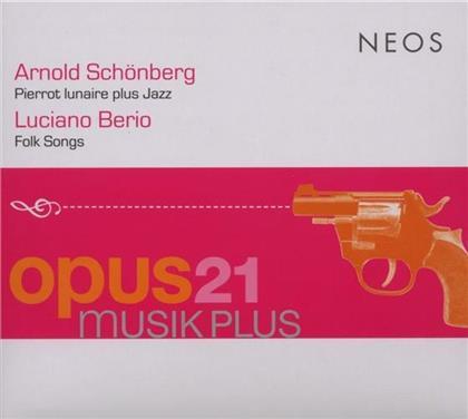 Stella Doufexis & Schönberg Arnold/Berio Luciano - Pierrot Lunaire Plus Jazz