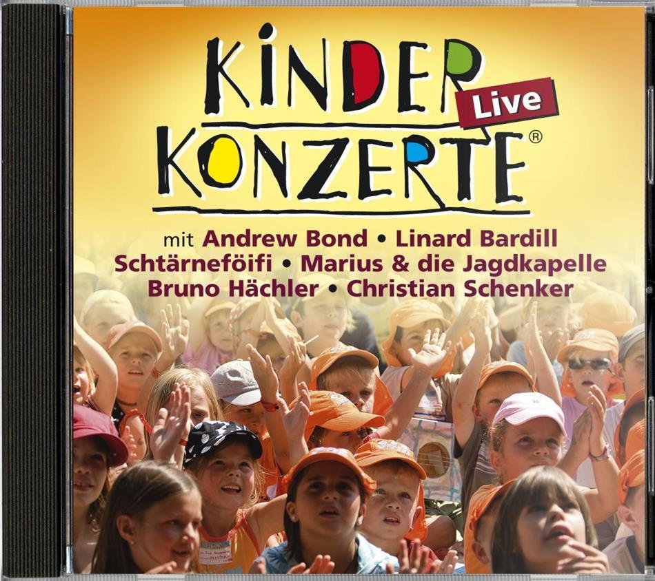 Kinderkonzerte Live - Various - Schtärneföifi/Bond/Bardill