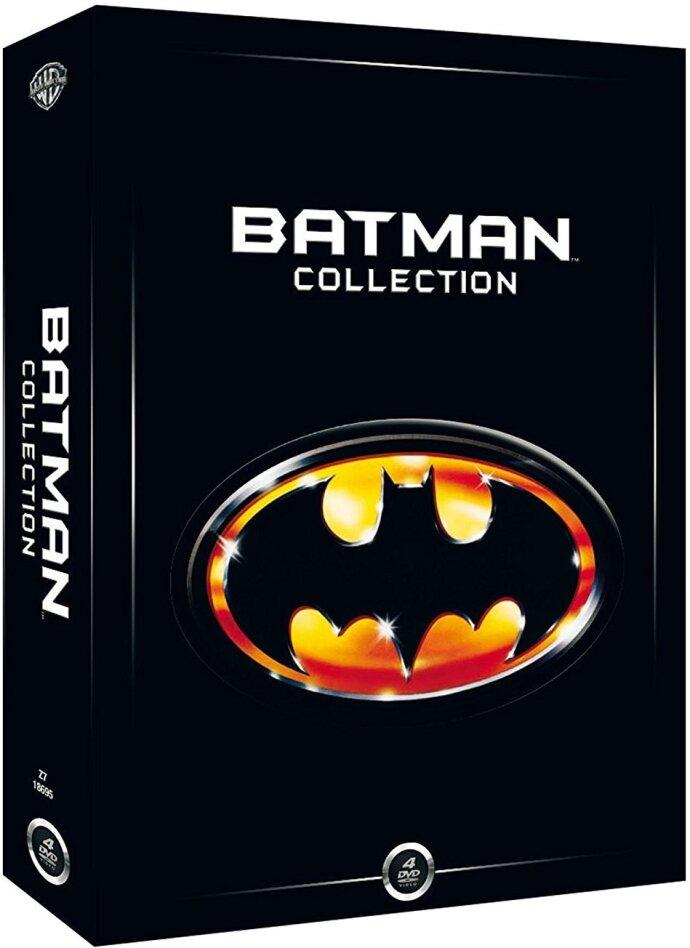 Batman Collection 1-4 - 1989-1997 (4 DVDs)