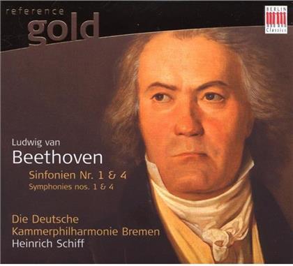 Schiff Heinrich / Deutsche Kammerphilh. & Ludwig van Beethoven (1770-1827) - Sinfonien Nr. 1+4