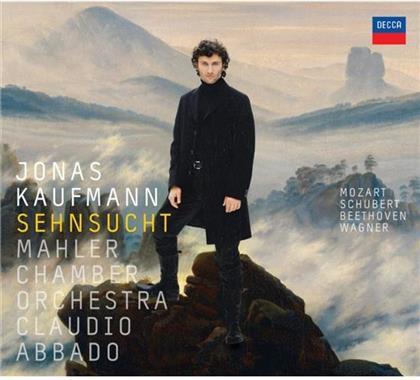 Kaufmann Jonas / Abbado Claudio & Beethoven/Schubert/Mozart/Wagner - Sehnsucht (Limited Edition, CD + DVD)