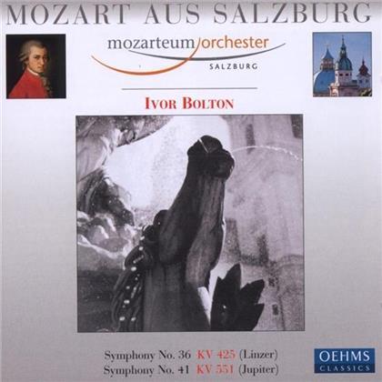 --- & Wolfgang Amadeus Mozart (1756-1791) - Sinf.36&41 Linzer/Jupiter
