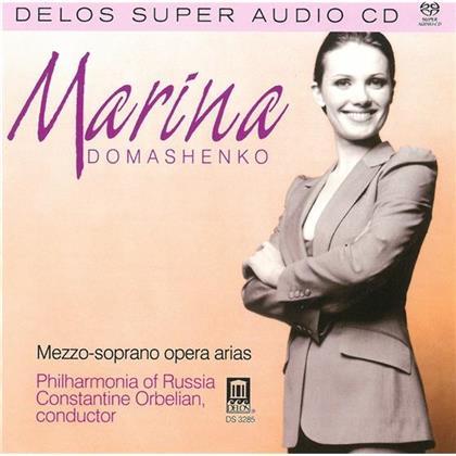 Domashenko Marina/ Po Russland & --- - Mezzo-Soprano Opera Arias