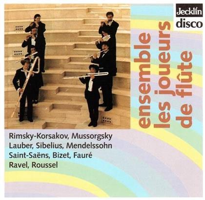 Ensemble Les Joueurs De Flute, Jean Sibelius (1865-1957), Felix Mendelssohn-Bartholdy (1809-1847), Camille Saint-Saëns (1835-1921), Georges Bizet (1838-1875), … - Ensemble Les Joueurs De Flute
