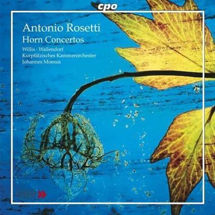 Wallendorf Klaus, Horn & Francesco Antonio Rosetti (1750-1792) - Andante C55q, Konzert Fuer Horn