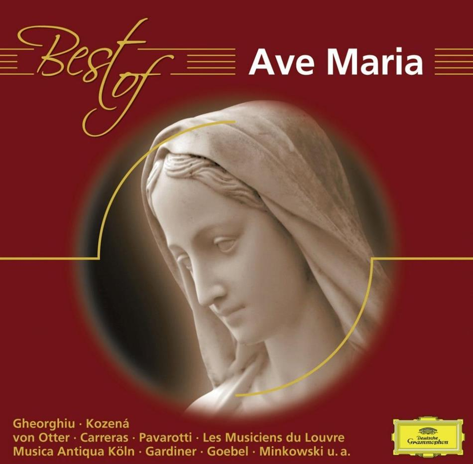 Studer/Gheorghiu/Pavarotti/Lso & --- - Best Of Ave Maria
