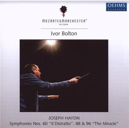Bolton Ivor/Mozarteumorchester Salzburg & Joseph Haydn (1732-1809) - Sinf.60,88,96