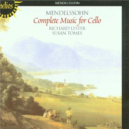 Lester Richard, Cello, Susan To & Felix Mendelssohn-Bartholdy (1809-1847) - Complete Music For Cello