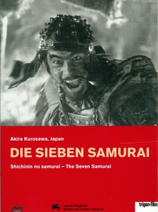 Seven Samurai - Die Sieben Samurai - (Restaurierte integrale Fassung / 2 DVDs) (1954) (Trigon-Film)