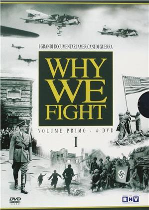 Why we fight - I Grandi Documentari di Guerra - Vol. 1 (s/w, 4 DVDs)