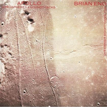 Brian Eno, Daniel Lanois & Roger Eno - Apollo - Jewel Case (Remastered)