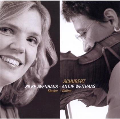Weithaas Antje/ Avenhaus Silke & Franz Schubert (1797-1828) - Sonaten & Fantasie