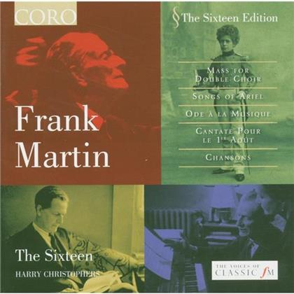 Christophers Harry / The Sixteen/ - Frank Martin Mass For Double
