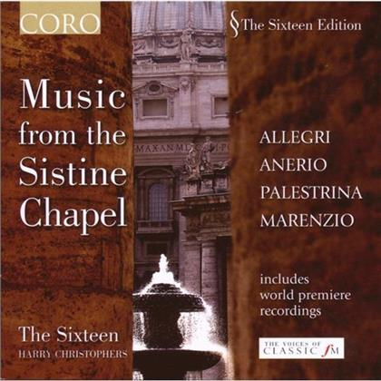 Christophers Harry / The Sixteen/ - Music From The Sistine Chapel