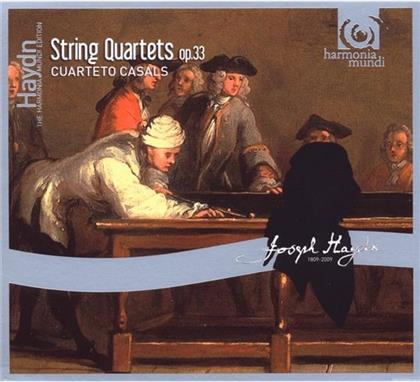 Casals Quartett & Joseph Haydn (1732-1809) - Quartett Op33/1-6 (2 CDs)