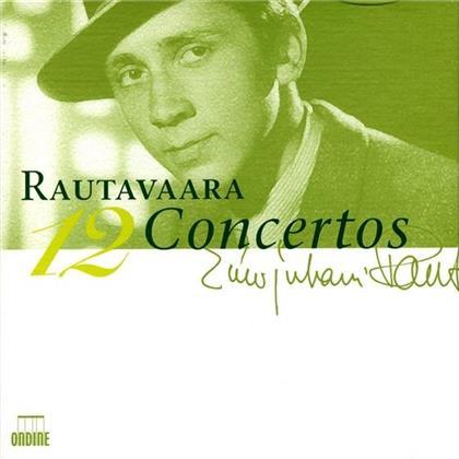 Ashkenazy/Gallois/Oliveira/Ylönen & Einojuhani Rautavaara (*1928) - 12 Concertos (4 CDs)