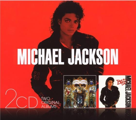 Michael Jackson - Bad/Dangerous - Slipcase (2 CDs)