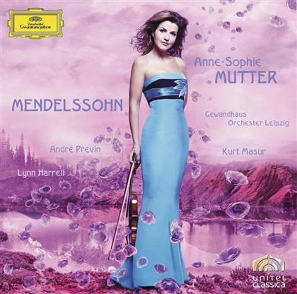 Felix Mendelssohn-Bartholdy (1809-1847), André Previn (*1929), Anne-Sophie Mutter, Lynn Harrell & Gewandhausorchester Leipzig - Violin Concerto Op.64/Piano Trio