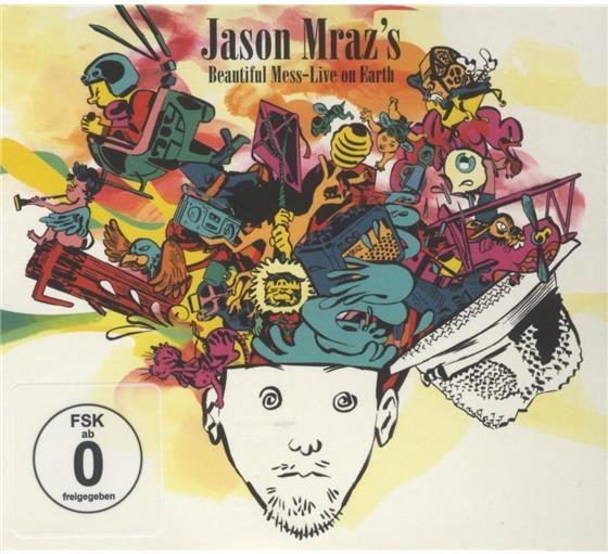 Jason Mraz - Beautiful Mess - Live On Earth (CD + DVD)