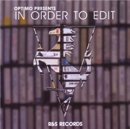 Optimo - In Order To Edit