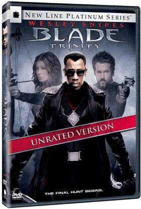 Blade 3 - Trinity (2004) (Unrated, DVD + Buch)