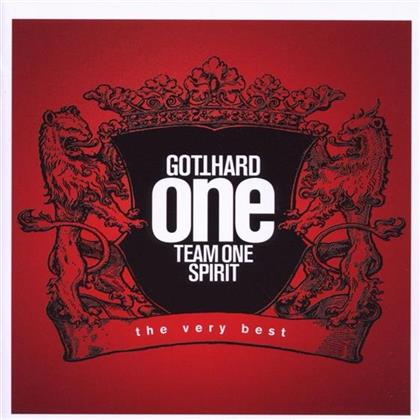 Gotthard - One Team One Spirit - Very Best - Jewelcase (2 CDs)