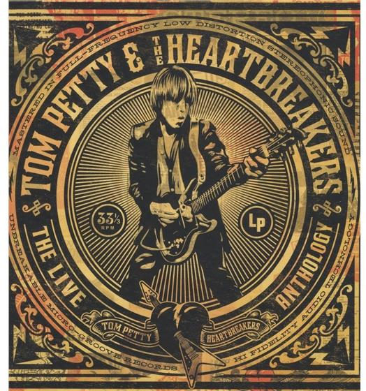 Tom Petty Petty Fest Fillmore Repro Tour Poster