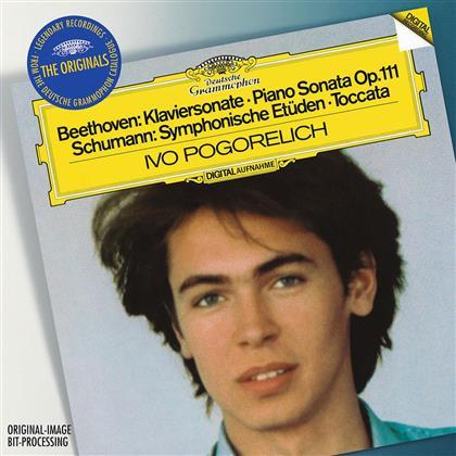 Ivo Pogorelich & Beethoven/Schumann/Chopin - Klaviersonate 32, /Symph. Etüden /Etüden