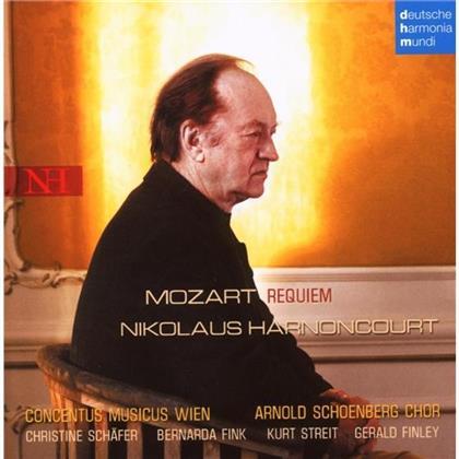 Wolfgang Amadeus Mozart (1756-1791), Nikolaus Harnoncourt & Concentus Musicus Wien - Mozart - Requiem