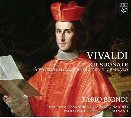 Biondi Fabio, Violine / Alessandrini & Antonio Vivaldi (1678-1741) - Sonate Für Violine & B.C. F13 1-12 (2 CDs)