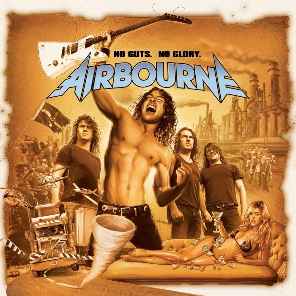 Airbourne - No Guts No Glory