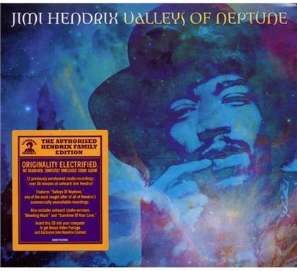 Jimi Hendrix - Valleys Of Neptune (Digipack)