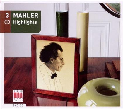 --- & Gustav Mahler (1860-1911) - Mahler - Highlights (3 CDs)