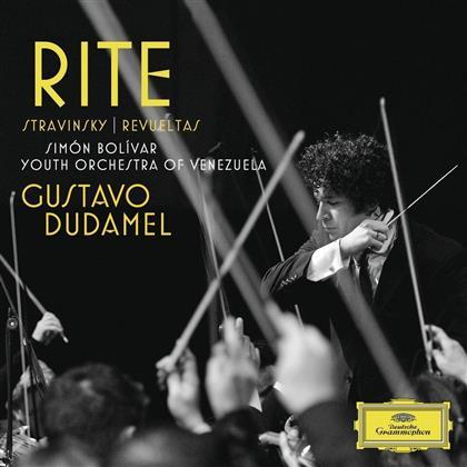 Gustavo Dudamel & Stravinsky / Revueltas - Sacre Du Printemps / Noche De Los Mayas